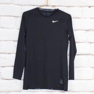 Nike Pro Dri-Fit Black Compression Shirt L
